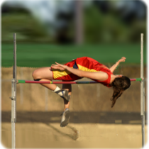 strong and confident female athlete